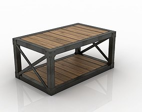 3D model low-poly realistic TABLE