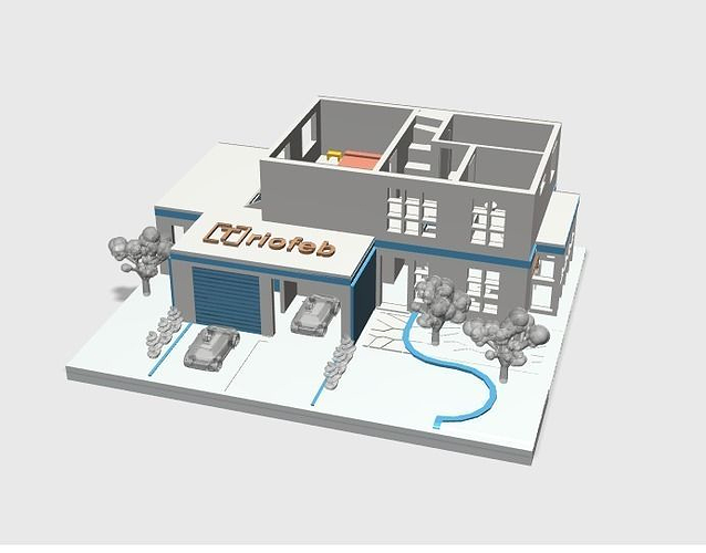3d printing house cgtrader for 3d printed model house