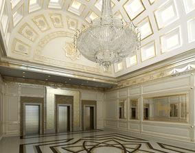 3D design elevator ENTRANCE HALL