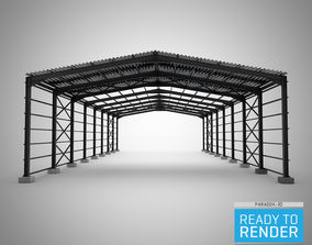 3D model Structural Hall