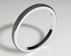 oro 3D model Diamond ring