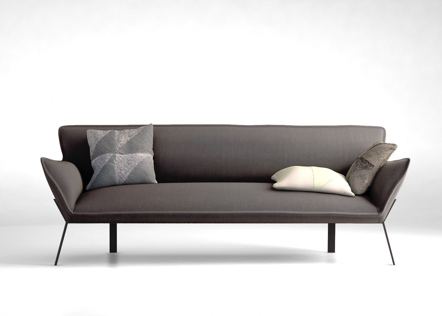 Modern sofa with chaise home gallery for Chaise contemporary