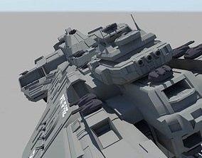 Halo Spirit Aircraft 3D