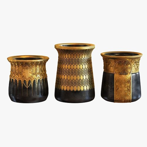 3d Model Gustav Gurschner Tree Vases Cgtrader