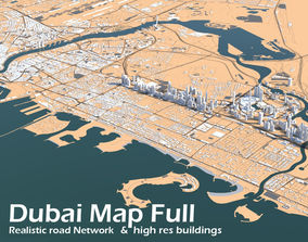 3D model Dubai Full City