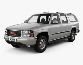 GMC Yukon XL 2000 3D model