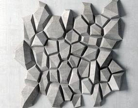Panel decor polygon n4 3D