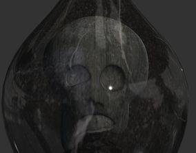 Cursed death jellyfish monster 3D asset