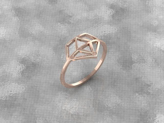 brilliant symbol ring 3d model stl 1