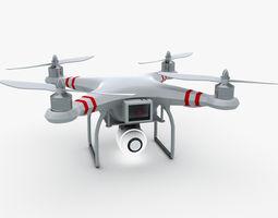 3D model Quad Copter Phantom