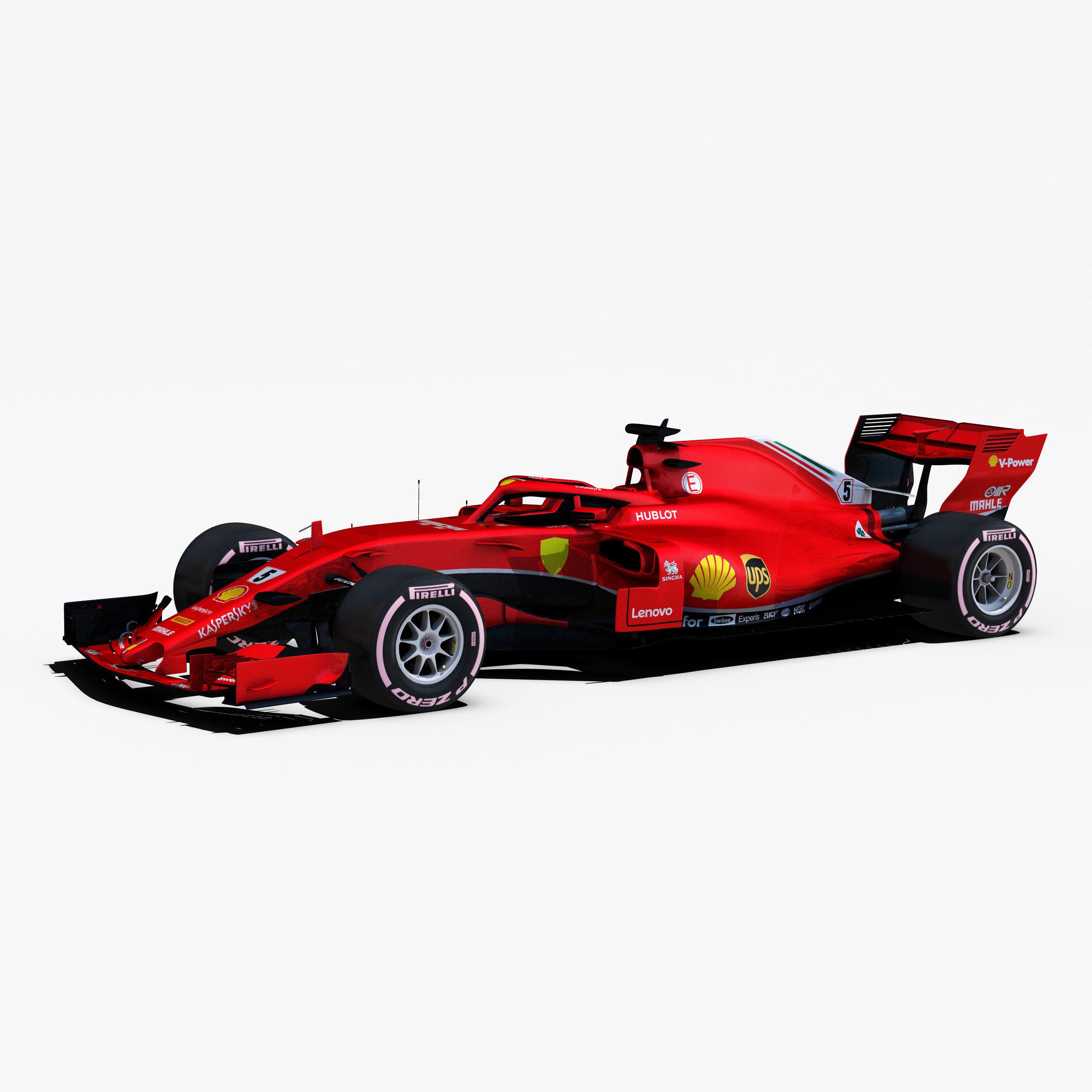 F1 2018 car