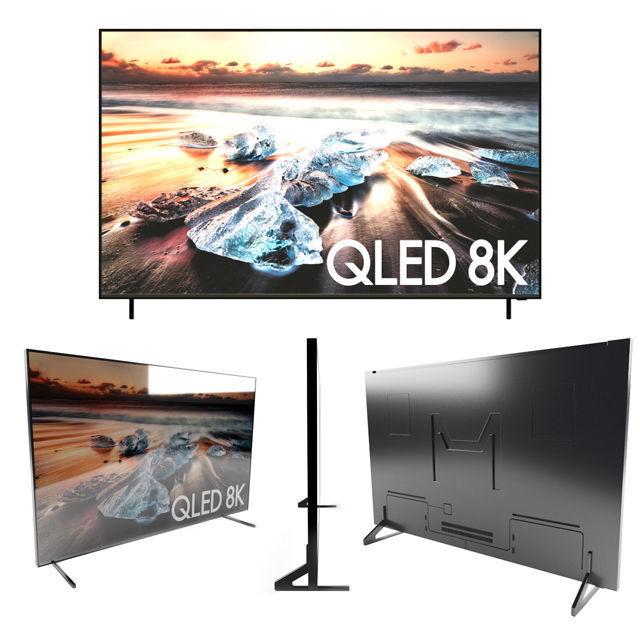 SAMSUNG QLED 8K TV 85 INCH 2018   3D model