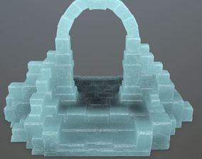 ice gate 3D asset