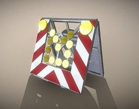 3D model Smaller Road Barrier 616-31 - Simple Version