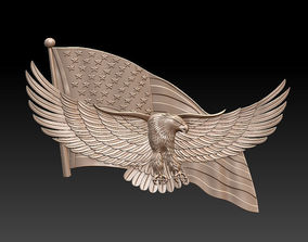 3d stl model American eagle