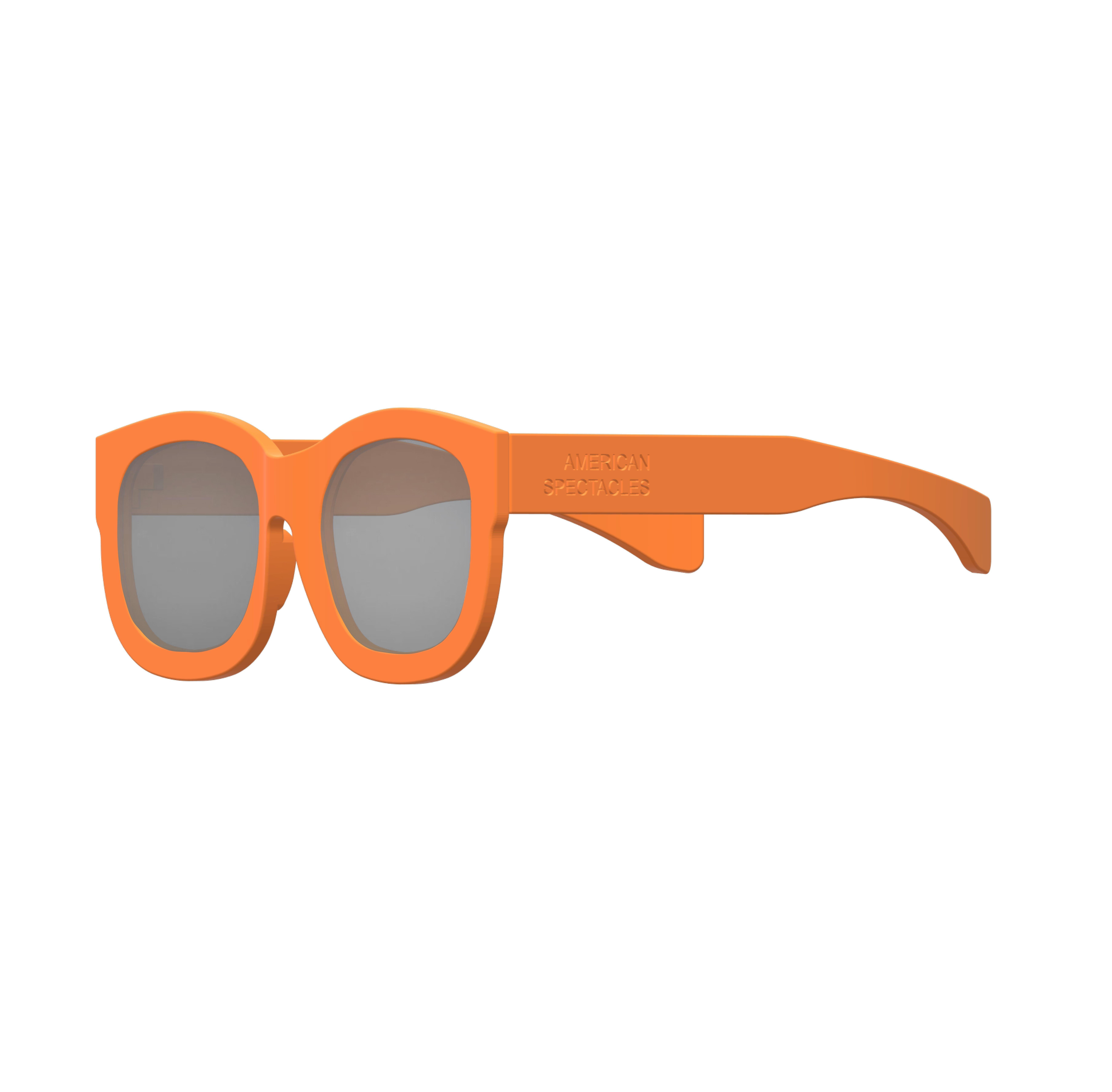 d98cf517d7de American Spectacles 3D-Printed Wearable Wayfarer 3D print model
