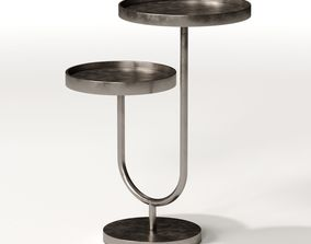 Mitchell Gold Ringo Pull-up Side Table 3D model