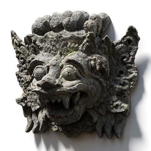 Stone Barong Temple Guardian