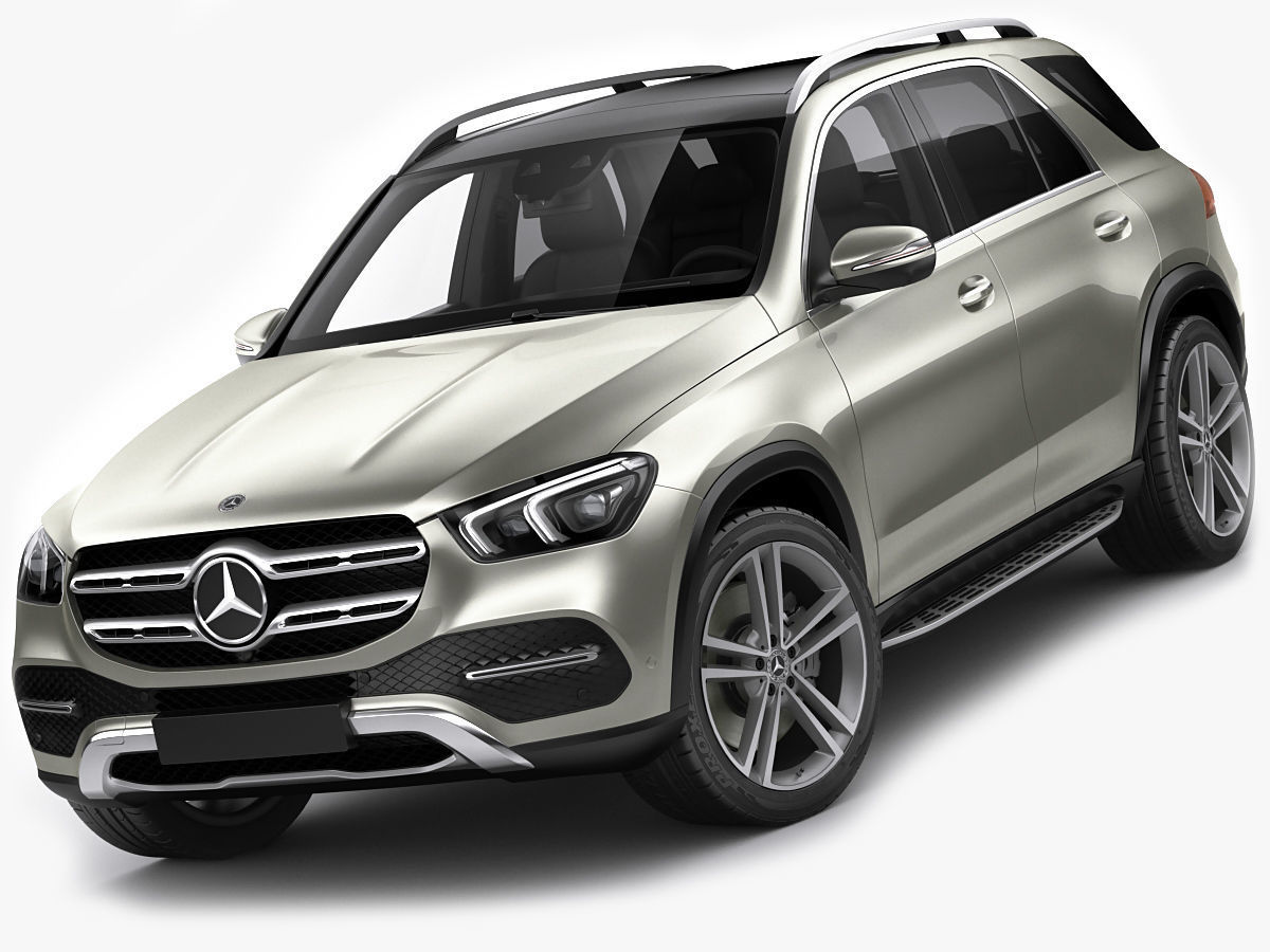 Mercedes GLE 2020 3D model | CGTrader