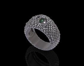 Rings Silver Snake - 3D Print Model