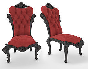 Ambiance Chair 3D asset animated
