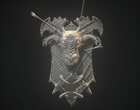 3D print model Dragon Shield