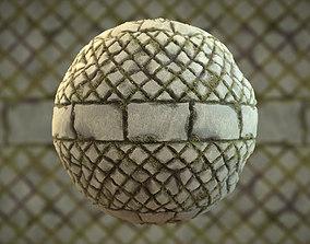 Brick Material PBR 3D model