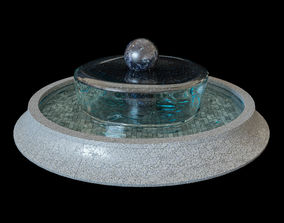 3D Classic round fountain