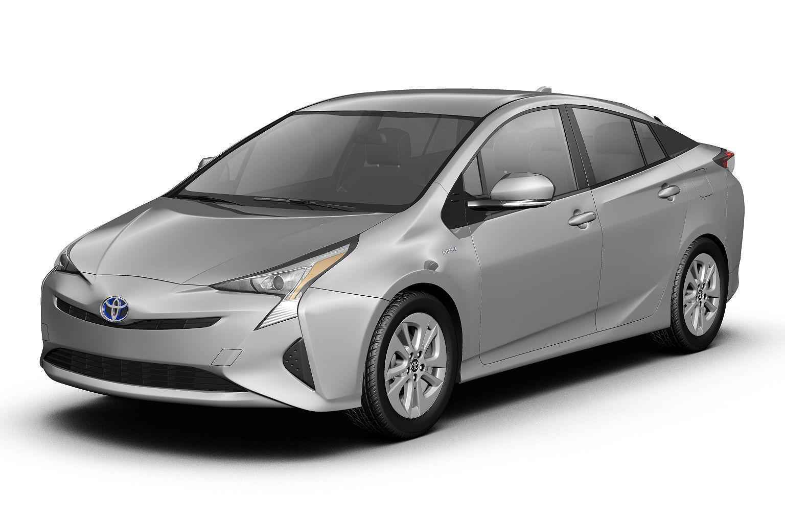 Toyota 2016 Models >> 2016 Toyota Prius 3d Model