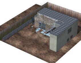 Backyard Building 3D