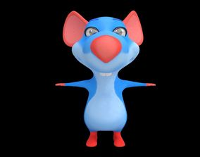 Asset - Cartoons - Character - Animals - Rig - 3D model 3