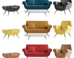 minotti Minotti Albert and Ile sofa 3D