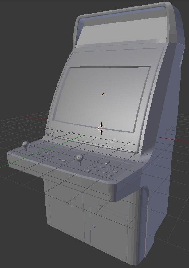 Sega Astro City arcade cabinet