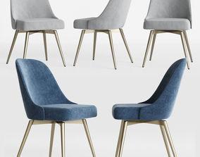 3D Mid-Century Swivel Office Chair Westelm