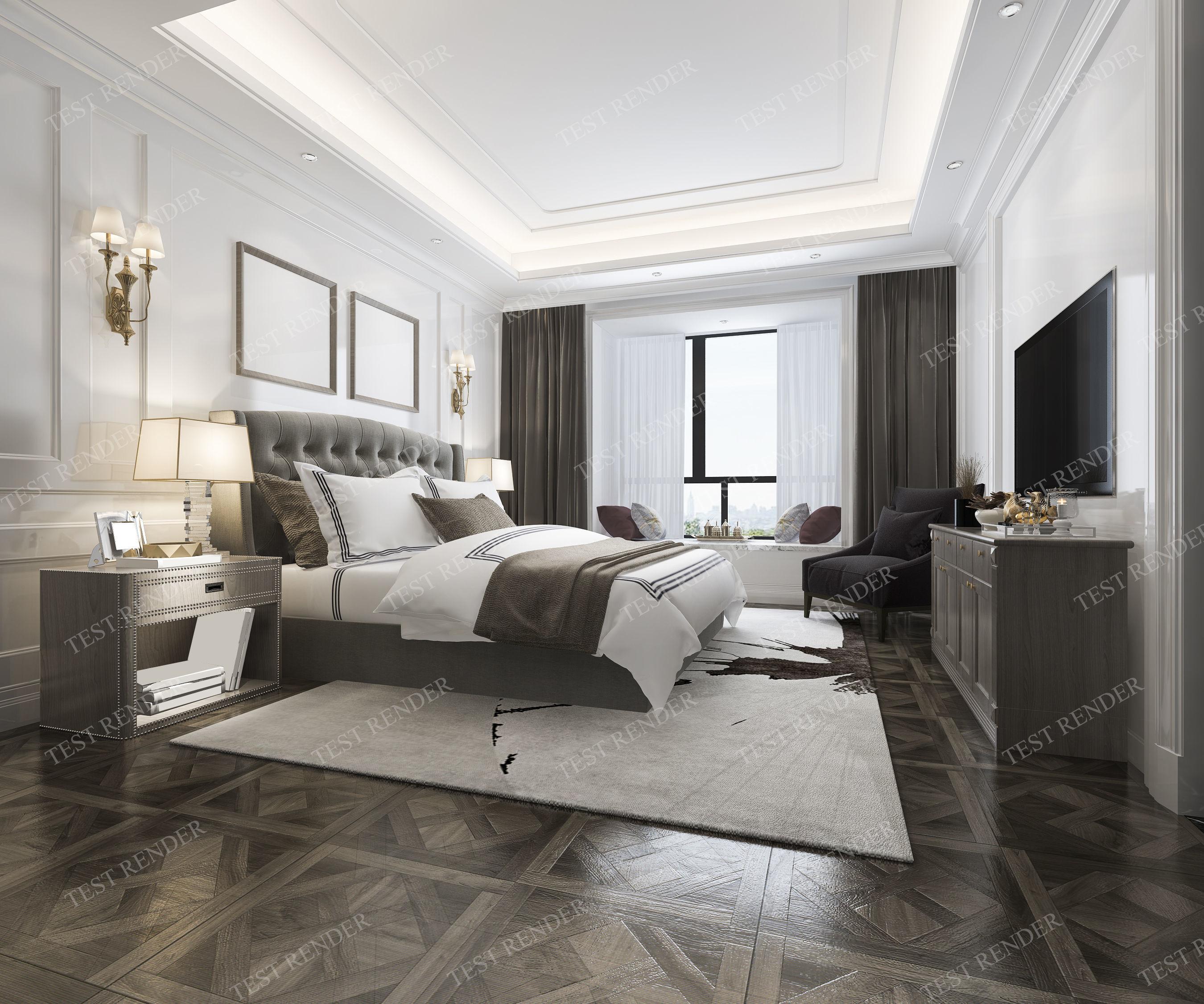 Model Luxury Clic Modern Bedroom