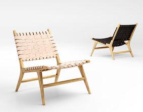 Barnaby Lane Tanner lounge armchair 3D model