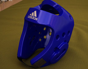 3D model Adidas Taekwondo Head Gear