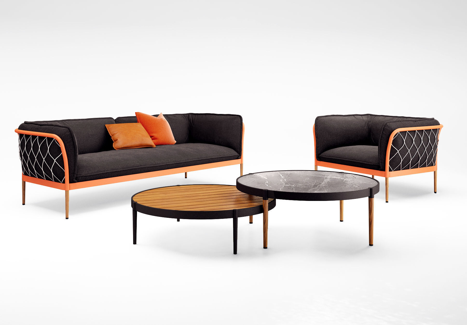 Tait Trace sofa and armchair