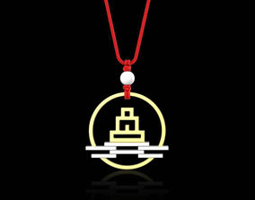 3D print model Creative jewelry gift design