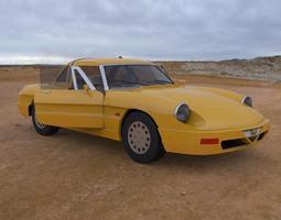 Alfa Romeo Spider 3D