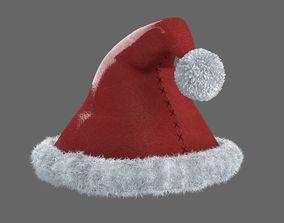 Xmas Hat game ready 3D model