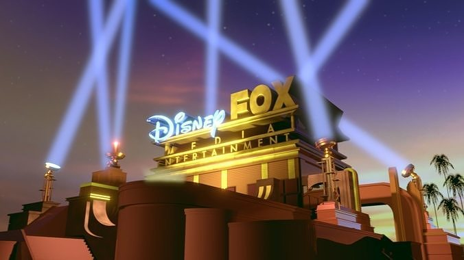 disney fox merger structure 3d model blend 1