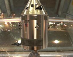 3D Apollo Spacecraft Studio Max
