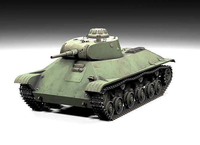 t50 lowpoly 3d model low-poly max obj mtl 3ds fbx tga 1