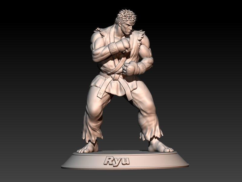 Street Fighter Ryu - Fight stance pose