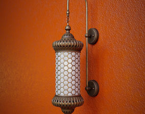 3D Moroccan Wall Sconce