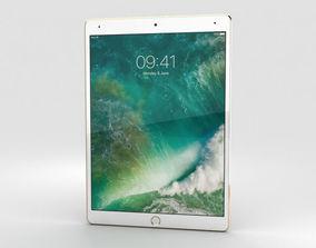 Apple iPad Pro 10-5-inch 2017 Cellular Gold 3D