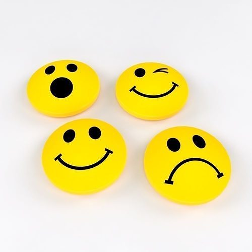 Smiley Magnets with 4 Different Emotions Free