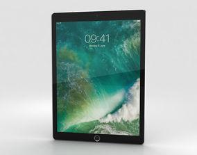 Apple iPad Pro 12-9-inch 2017 Cellular Space Gray 3D model