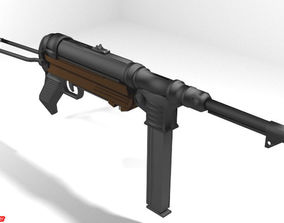 Submachine Gun - MP40 3D model